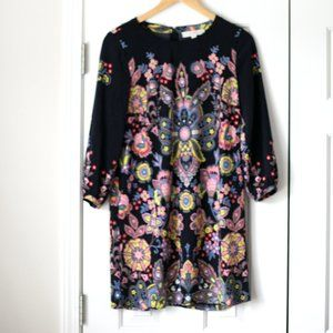 LOFT Dresses - Ann Taylor Loft shift dress floral paisley